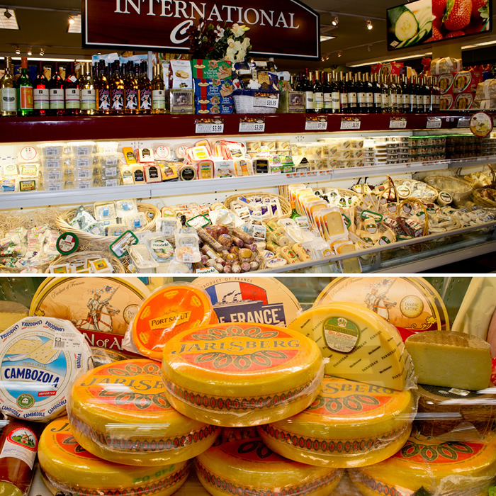 picture of cheeses